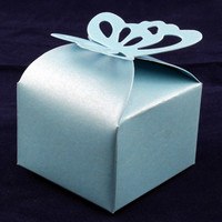 Favour Box  Butterfly Blue (10)