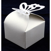 Favour Box  Butterfly White (10)