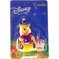 Candle - Pooh with Cake - 3D (Ea)