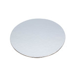 Slice Board 100mm Silver Round 1.5mm Thick (100)