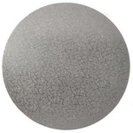 4mm MDF Board Silver Round 8in