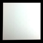 4mm MDF Board White Square 7in