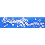 Crystal Candy Platinum Lace Mat  Melody