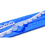 Crystal Candy Platinum Lace Mat  Myst
