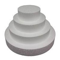 Cake Dummy Round 6in x 100mm
