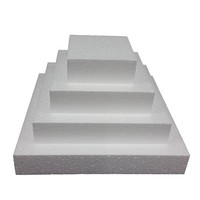 Cake Dummy Square 6in x 100mm