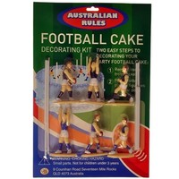 Cake Kit  Aus. Rules Footy Generic (Ea)