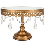 Anastasia 10 inch Gold Cake Stand