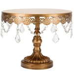 Sophia 10 inch Gold Cake Stand