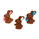 Bunny with Egg Assorted 30mm (180)