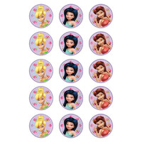 Cup Cake Image  Tinkerbell & Fairies (pk12)