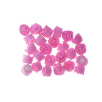 Rose  Whirl Baby Pink 1.3cm Hangsell 25pc