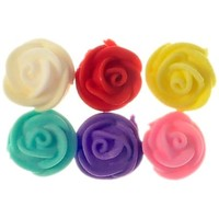 Rose  Astd Swirl Medium 2cm (Bx 144)