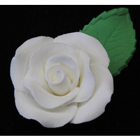 Rose  Korean leaf large 4.5cm (Bx 18)