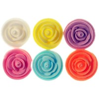 Rose  Asstd Whirl Med 22mm (Bx150)