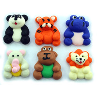 SAFARI ANIMALS 72 pc assorted