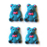 Sitting Bears Blue (60 pcs)