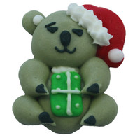 Koala Bear With Present 40mm (Box 96)
