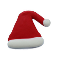 Santa Hat Sugar Decoration 40mm (Box 96)