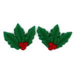 3 Prong Christmas Holly (180)