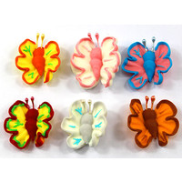 Butterfly Assorted 33mm (Box 96)
