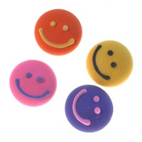 Smiley Faces Round Assorted (180)