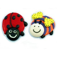 LadyBird Bumble Bee Assort 25mm (Bx180)