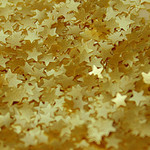 Edible Shapes  Stars Gold 1.4g (Ea)