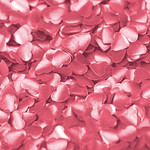 Edible Hearts Pink 2g (Ea)