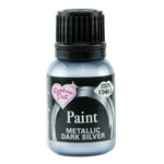 Metallic Paint  Dark Silver 25ml