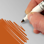 Edible Pen  Orange