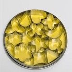 Tin set 12pc Aspic 4cm Large (ea)