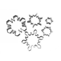 Cutter  Snow Flake Set of 5