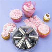 Nozzle Set Stainless Steel (6 pc)