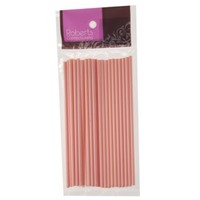 Lolly Sticks  150mm Baby Pink (25 pk)