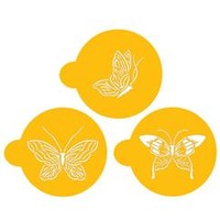 Stencil Small Butterfly Cupcake Tops