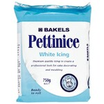 Icing  Bakels Pettinice White 750g