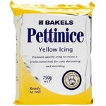 Icing  Bakels Pettinice Yellow 750g