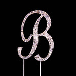 Bling Diamante 7cm Letter B
