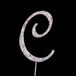 Bling Diamante 7cm Letter C