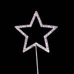 Bling Diamante 6cm Star