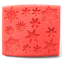 Silicone Mould Snowflakes 95x80