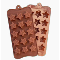 Silicone Mould Stars 30mm
