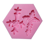 Silicone Mould Ornate Cross