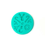 Silicone Mould Christmas Icons