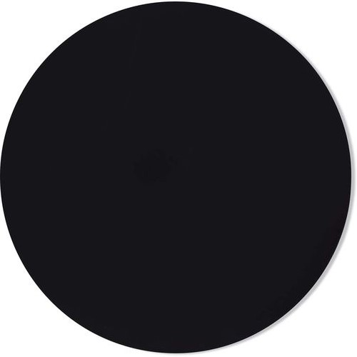 4mm MDF Board Black Round 13in