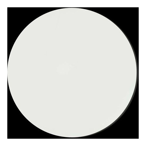 4mm MDF Board White Round 10in