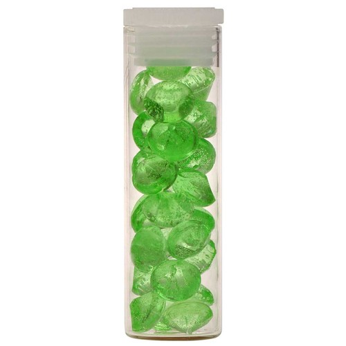 Crystal Candy Diamonds 6mm APPLE GREEN (40)