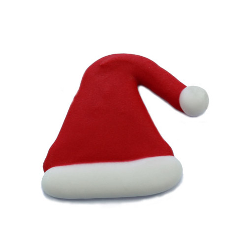 Santa Hat Sugar Decoration 25mm (Box 180)