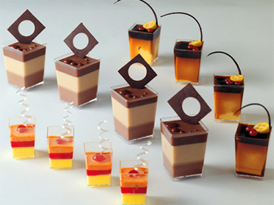 Dessert Bar Containers